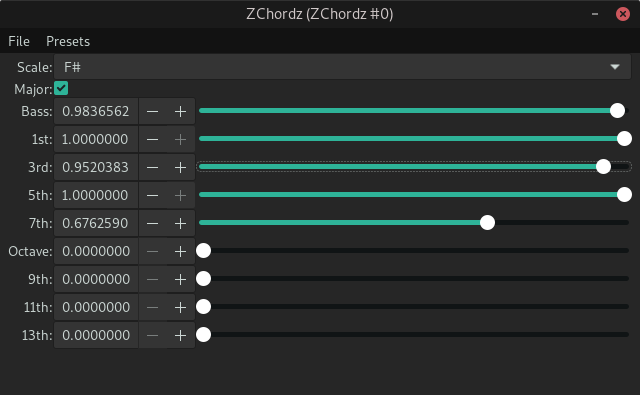 ZChordz screenshot